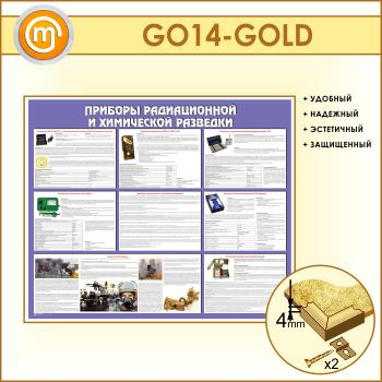 Стенд «Приборы радиационной и химической разведки» (GO-14-GOLD)