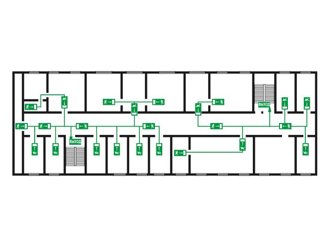Как самому сделать план эвакуации при пожаре на компьютере